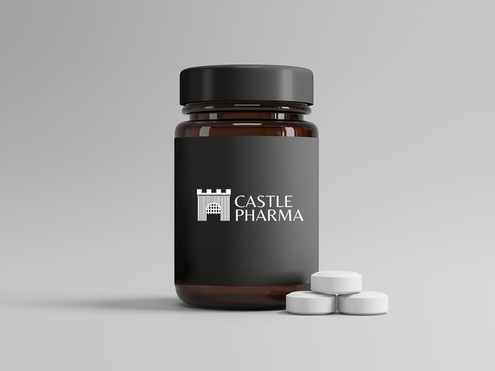 Brand Identity work for Castle Pharma